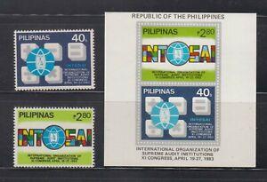 Philippine Stamps 1983 International Organization of Supreme Audit Institutions