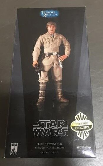Luke Skywalker Rebel Commander Bespin STAR WARS SIDESHOW 1:6 Scale 12