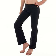 94a9cf5f138 Danskin Now Women s Dri-more Straight Leg Pants Black Large for sale ...
