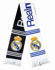 Real Madrid Football club Soccer Scarf Neckerchief Fan Souvenir gift black+white