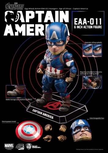 Egg Attack Action EAA-011 Captain America Avengers Age of Ultron IN STOCK USA