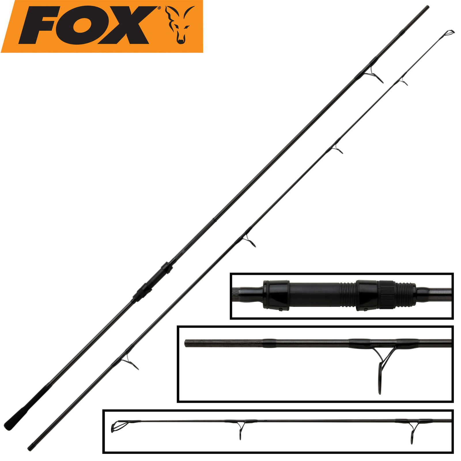 Fox Horizon X3 Abbreviated Handle 10ft 3,5lb Karpfenrute, Grundrute