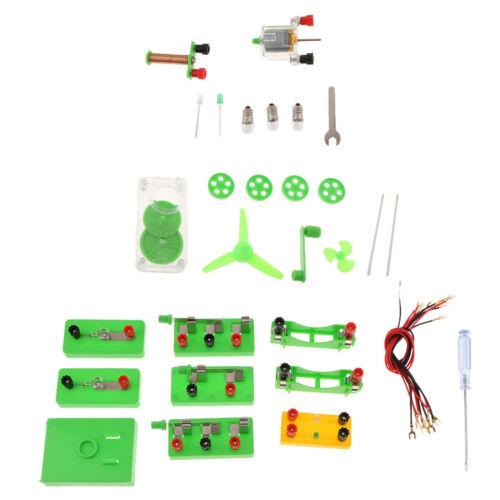 DIY Physik Experimente Elektronische Schaltungen Serie Paralleler Lernspielzeug