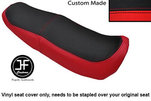 RED /& BLACK AUTOMOTIVE VINYL CUSTOM FITS HONDA NS 125 F N DUAL SEAT COVER ONLY