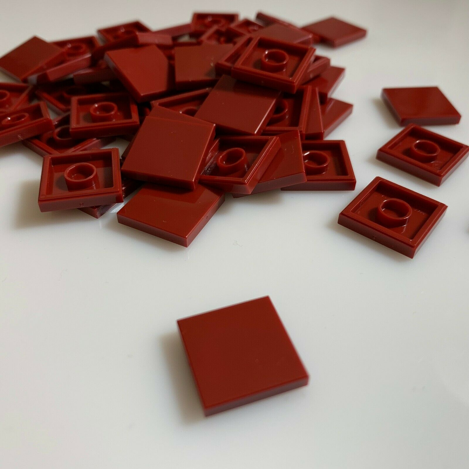 50 NEW LEGO 2x2 BLACK TILES 3068 modular floor flat smooth moc finishing 306826