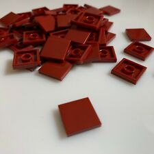 Lego 20x Dark Red 2x2 Flat Tiles Part 3068 New