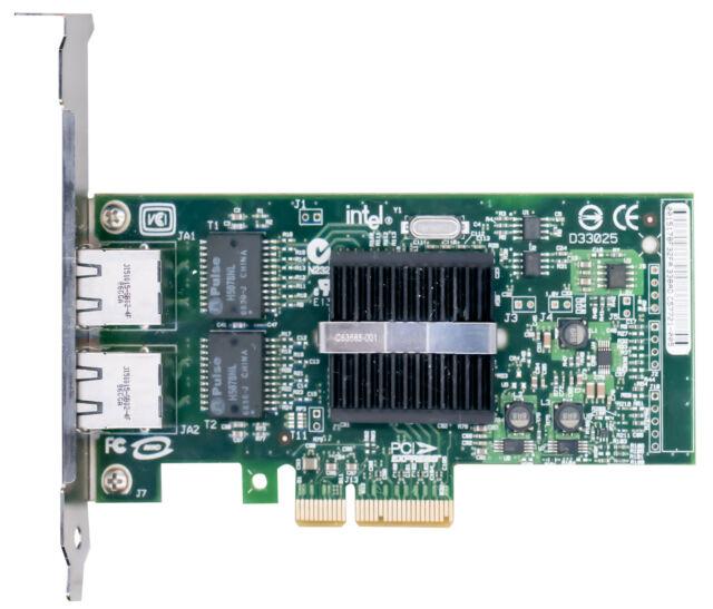 Dell Intel D33682 Gigabit Dual Port 2 Port PCIe Network Adapter Card 0X3959