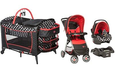Disney Baby Combo Set Stroller with Car Seat Playard ...