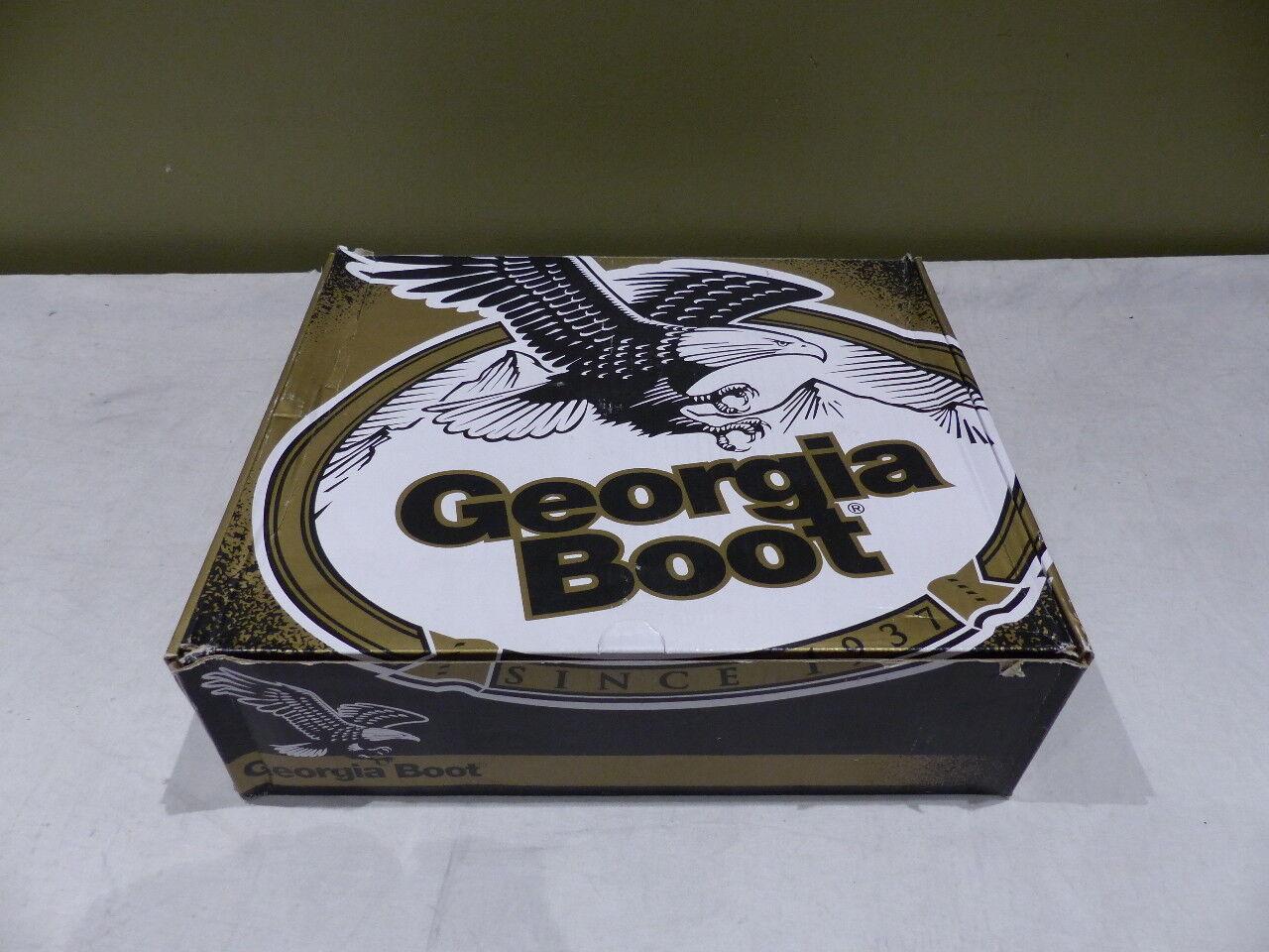 GEORGIA MENS MENS MENS 8IN nero LOGGERS WATERPROOF stivali SZ 11W G8010 c86995