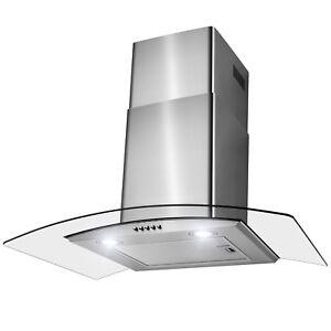 30-034-Wall-Mount-Stainless-Steel-Push-Panel-Kitchen-Range-Hood-Cooking-Fan