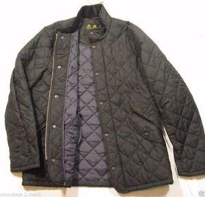 Barbour-Men-039-s-Navy-Blue-Chelsea-Sportsquilt-Quilted-Jacket