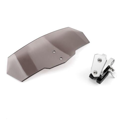 Universal Einstellbar Windschild Windshield Deflektor Für Yamaha Honda Rauch AH