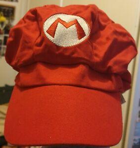 Super Mario Bros Hat Cap Free Postage