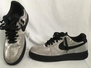 NIKE AIR FORCE 1 LOW SPARKLY SILVER