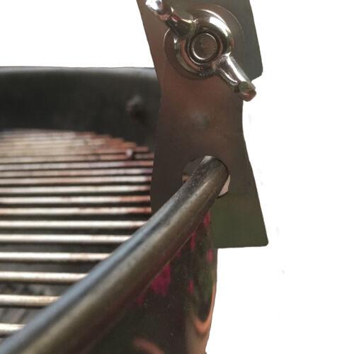 Räucherbrett für den Kugelgrill Rundgrill Variante rustikal Flammlachsbrett