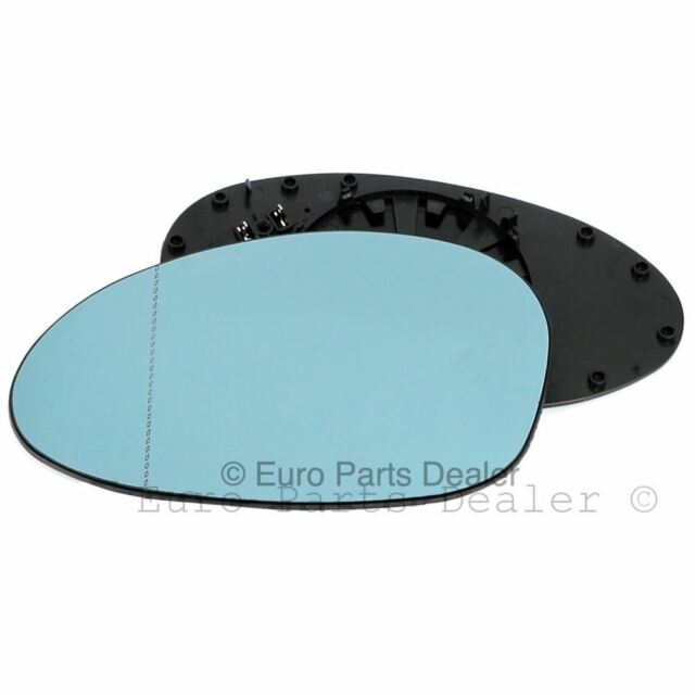 For Skoda Superb 01-06 Right Driver side Aspheric Electric wing mirror glass