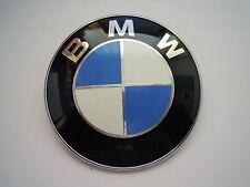 Original BMW Emblem Plakette 82mm für Motorhaube Kofferraumdeckel 8132375  NEU