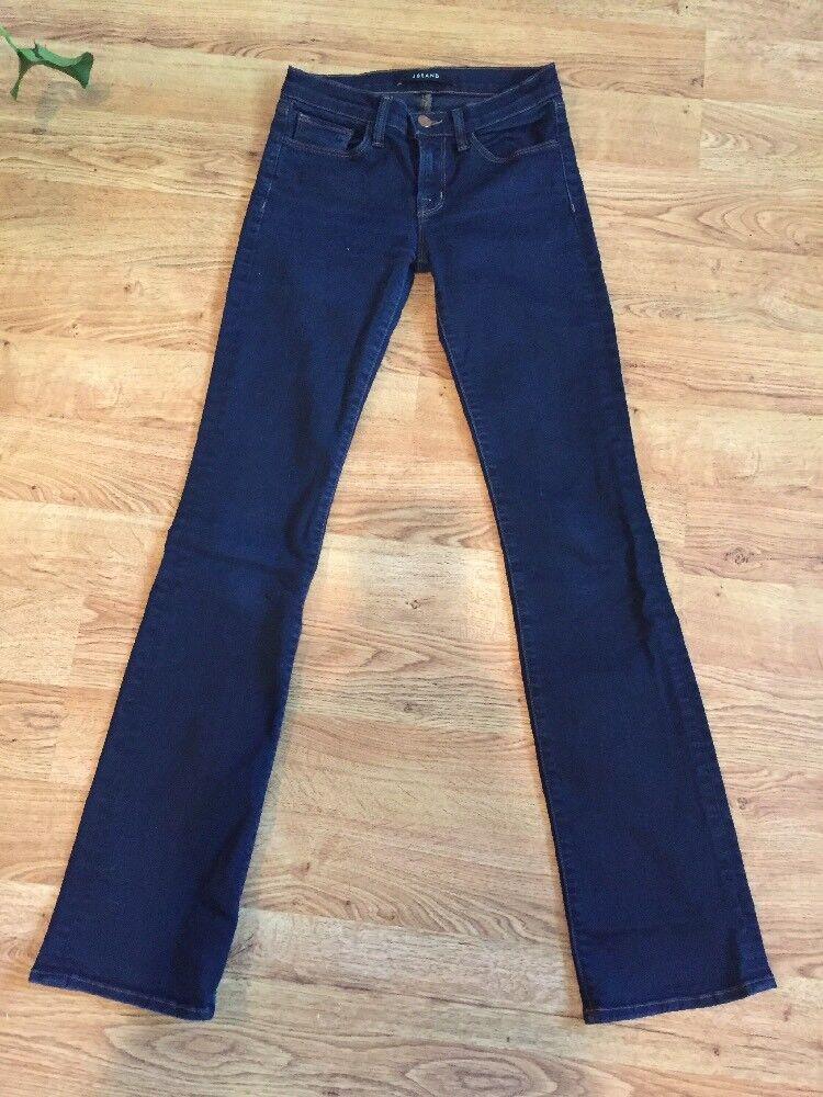 J Brand NEW  Dark Wash Skinny Slim Boot Brooke Jeans in Aura Wash Sz 25 NWOT