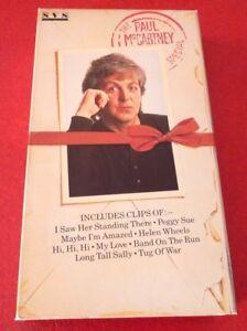 VHS-Movie-The-Paul-McCartney-Special-Hi-Fi-1985