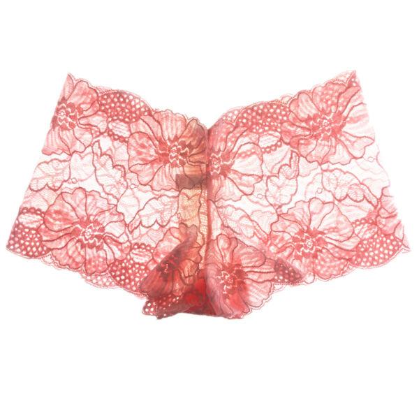 Lot 6x Damen Hipster Panty Boxershorts Spitze Unterhose Höschen Unterwäsche,S-XL