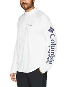 1577d304 Details about Columbia Men's Terminal Tackle 1/4 Zip Pullover Top