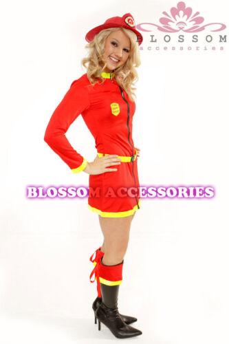 883 Fireman Fire Fighter Uniform Outfit Costume /& Hat