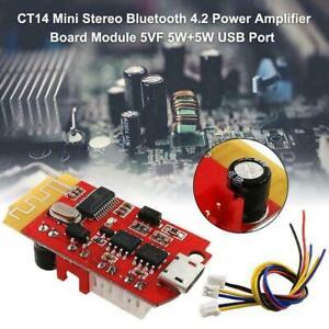 CT14-Micro4-2-Stereo-Leistungsverstaerker-Bluetooth-Kartenmodul-Nachruesten
