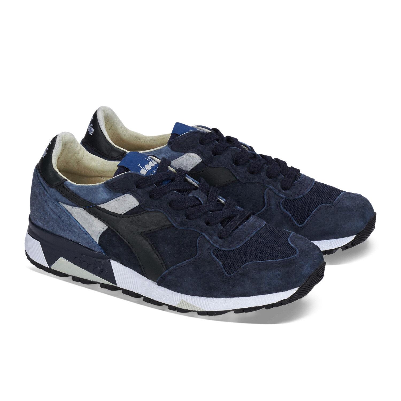 Diadora heritage sneaker trident 90 s blau grau herren