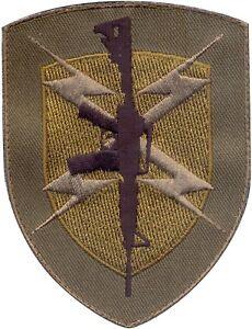 Shield-Rifle-Gun-Rifle-Lightning-Embroidered-Hook-Patch-4-034-x-3-034
