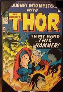 the mighty thor 120 in my hand this hammer wooden wall art 19 x