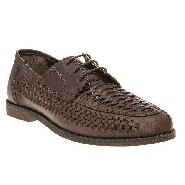 New Mens Red Tape Brown Rufford Leather shoes Lace Up
