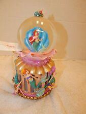 Disney Little Mermaid Ariel Snowglobe Daugthers of Triton Under The Sea Concert