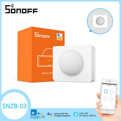 SONOFF SNZB-03 ZigBee Motion Sensor Smart Home Detect Alarms for Android IOS 2DE