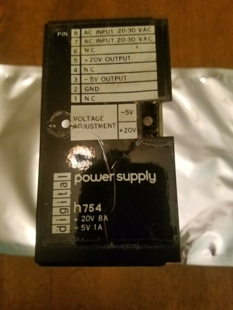 DEC DIGITAL VINTAGE H754 power supply
