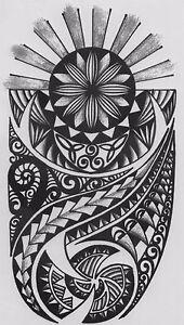 Tatuaje-Temporal-Falso-Tribal-motivo-Resistente-Al-Agua-hb-853