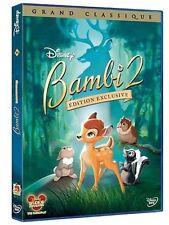 """DVD - """"Bambi 2""""   Disney  N 84 """"  NEUF SOUS BLISTER"""