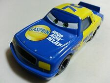 Mattel Disney Pixar Cars No.70 Gasprin Metal Toy Car 1:55 Loose New In Stock *