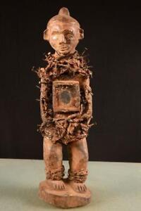 8038-Africain-Vieux-Bakongo-Figurine-Dr-Du-Congo-Afrique