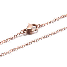 """10 Strds 304 Stainless Steel Slider Box Chain Necklaces Bases Findings 25.6/""""x2mm"""