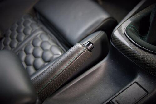 Audi B5 S4//RS4 handbrake handle Retrimming service semi perforated leather
