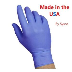 100-ct-Nitrile-Gloves-Durable-Latex-amp-Powder-Free-Blue-1-97-Mil-Sysco