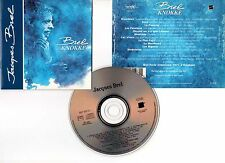 "JACQUES BREL ""Knokke"" (CD) Live 1963 + Interview 1993"