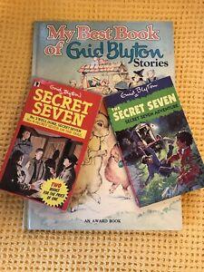 Vintage-My-Best-Book-Of-Enid-Blyton-Stories-2-Vintage-Secret-Seven-Books