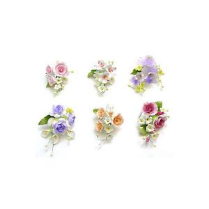 Gum Paste Roses Orchids Sugar Flower Cake Decorating Sprays