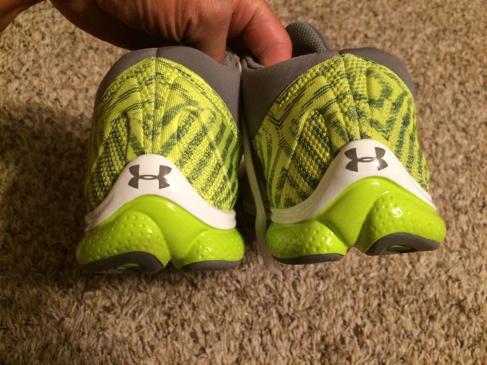 Under Armour 4D foam micro G performance trainer Athlete Gym Shoes