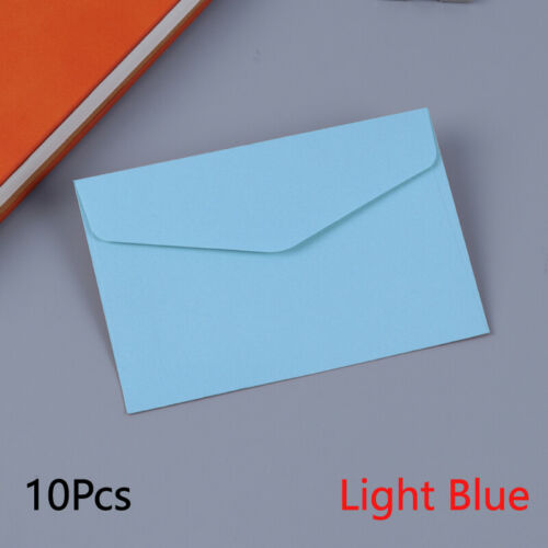 10Pcs 11.5*8cm Postcard Mailer Paper Envelopes Birthday Wedding Card Invitation