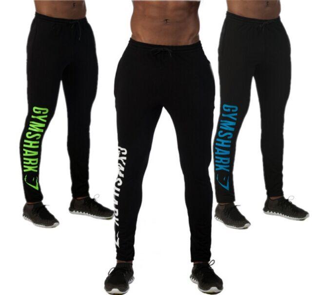 Men's Gym Pants Tights Tracksuit Sports Gymshark Fitness Joggers Boys Sweatpants