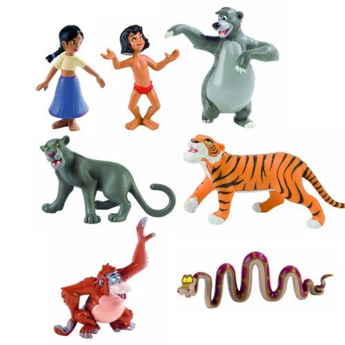Bullyland Disney Dschungelbuch Mogli Balu King Louie Kaa Baghira Shir Khan NEU