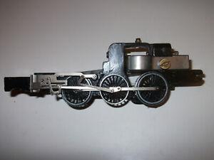 Hornby Dublo A4 3 rail locomotive chassis no motor no pony trucks spares repair
