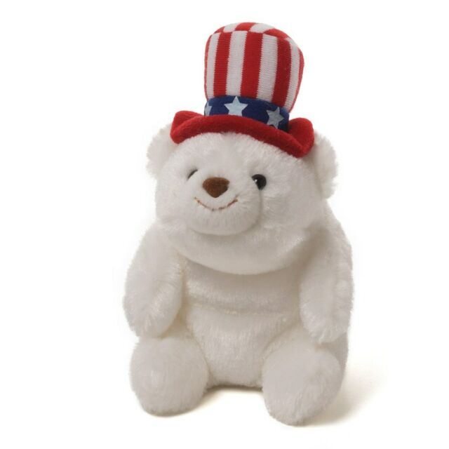 """RETIRED GUND  BEAR - 5""""  SNUFFLES  FOR 5 DIFFERENT HOLIDAYS -  SET OF 6 - NWT"""